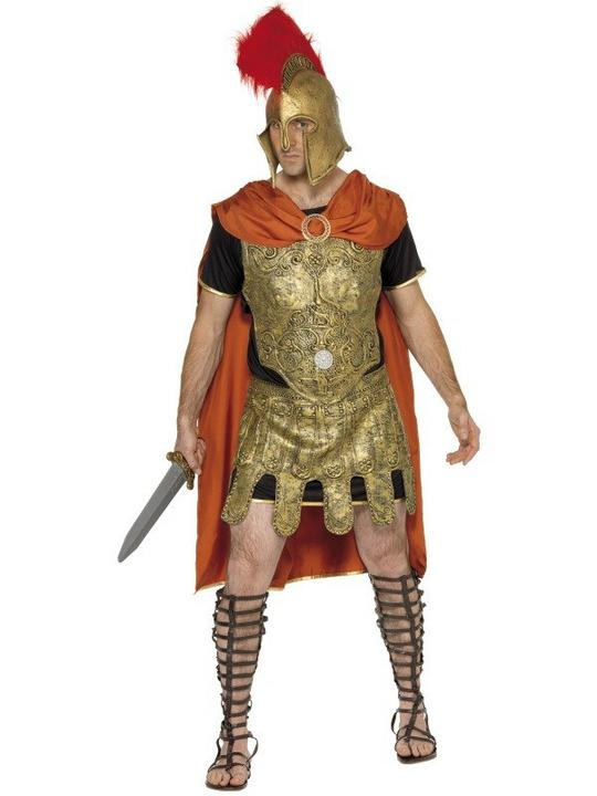 Gladiator Tunic Fancy Dress Costume Thumbnail 1