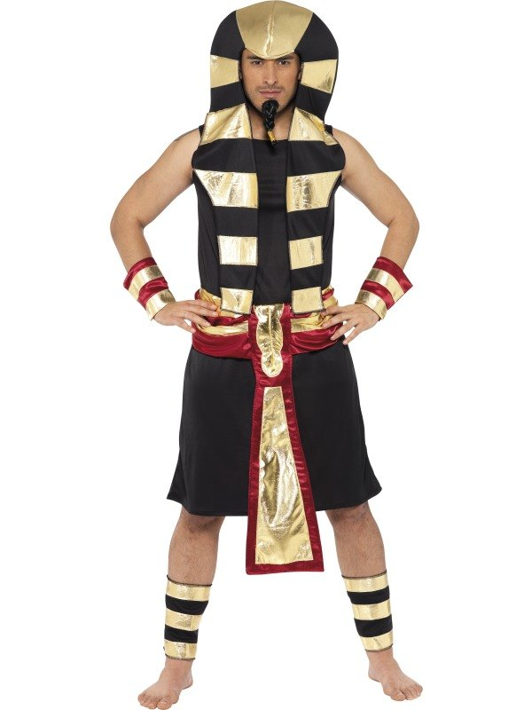 Pharaoh Fancy Dress Costume  sc 1 st  Wonderland Party & Egyptian Boy King Mens Fancy Dress Costume Outfit///Sale! Adult ...