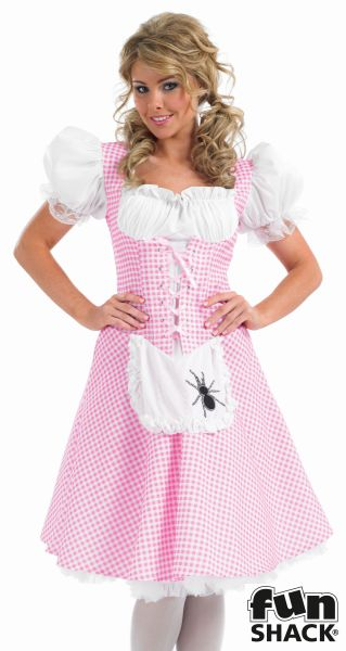 Miss Muffet Fancy Dress Costume