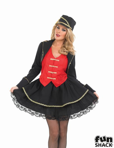 Drum Majorette Fancy Dress Costume
