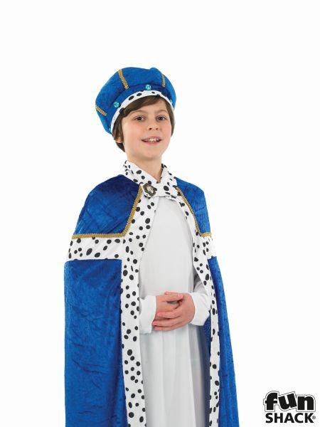 Blue Wise Man Fancy Dress Costume