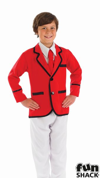 Boys Holiday Camp Helper Fancy Dress Costume