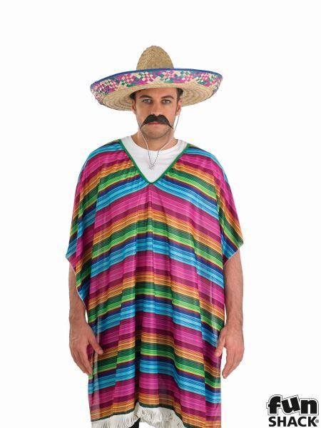 Stripy Poncho