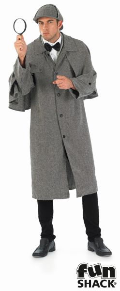 Victorian Detective Fancy Dress Costume Thumbnail 2