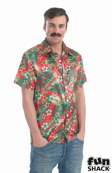 Hawaiian Shirt Fancy Dress Costume Thumbnail 1