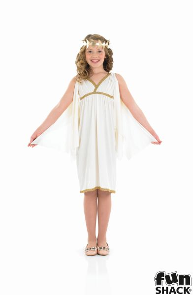 Kids Egyptian Queen Cleopatra Girls Book Week Fancy Dress Childs Costume Outfit Thumbnail 2
