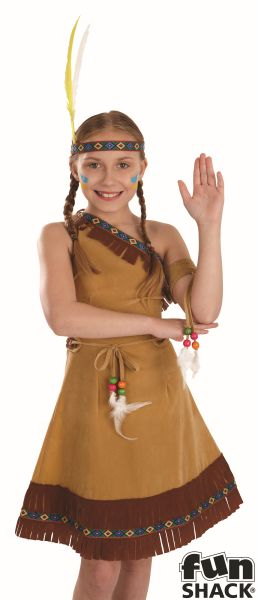 Indian Girl Fancy Dress Costume Thumbnail 1