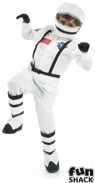 Space Boy Fancy Dress Costume Thumbnail 2