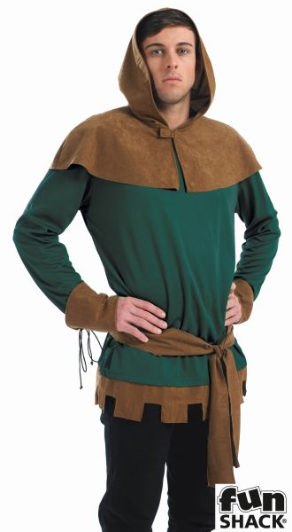 Robin Hood Fancy Dress Costume Thumbnail 1
