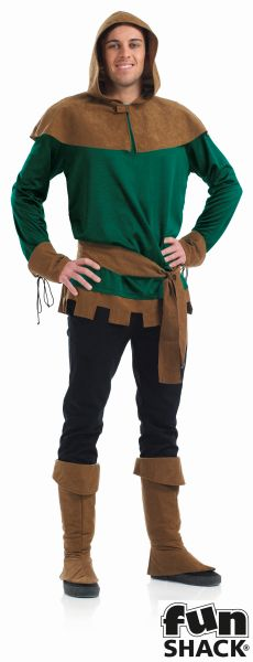 Robin Hood Fancy Dress Costume Thumbnail 2