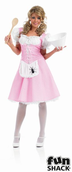 Miss Muffet Fancy Dress Costume Thumbnail 2