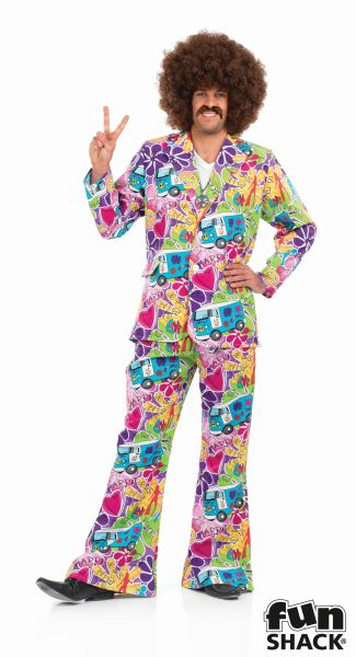 Pyschedelic Suit Fancy Dress Costume Thumbnail 2