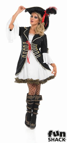 Buccaneer Girl Fancy Dress Costume Thumbnail 2