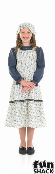 Victorian School Girl Fancy Dress Costume Thumbnail 2