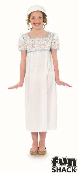 Regency Girl Fancy Dress Costume Thumbnail 2