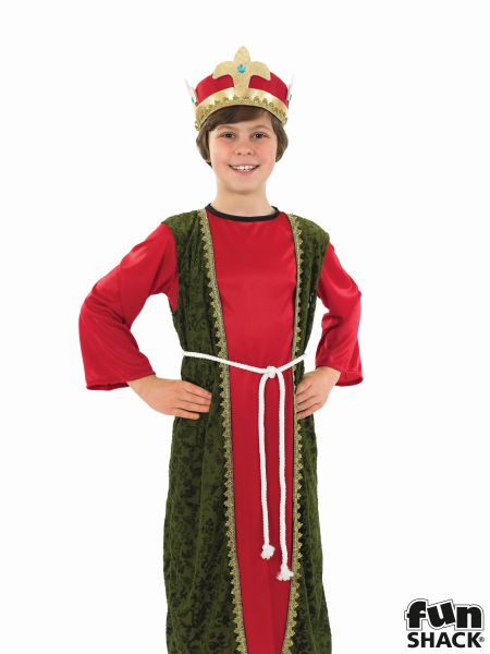 Red Wise Man Fancy Dress Costume Thumbnail 1