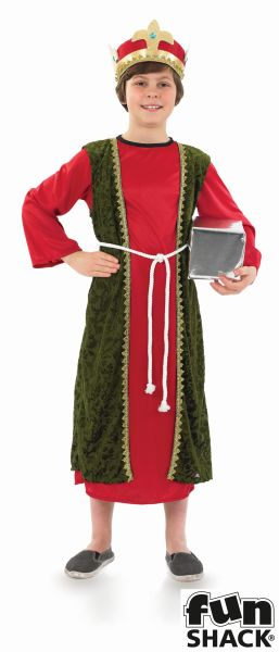 Red Wise Man Fancy Dress Costume Thumbnail 2