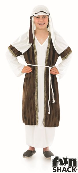 Boys Shepherd Fancy Dress Costume Thumbnail 2