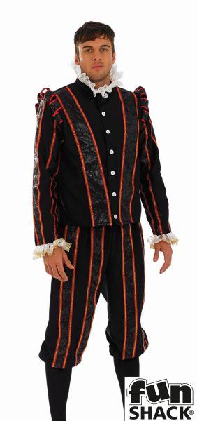 Tudor Earl Fancy Dress Costume Thumbnail 1