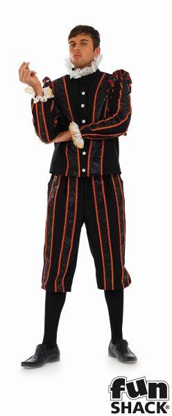 Tudor Earl Fancy Dress Costume Thumbnail 2