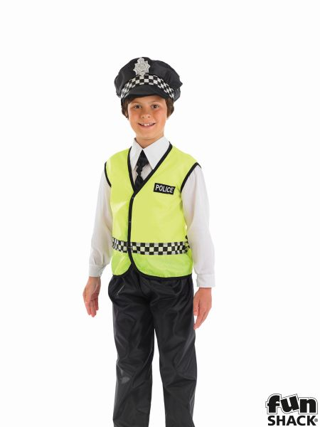 Policeman Boys Costume Thumbnail 1