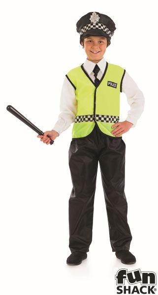 Policeman Boys Costume Thumbnail 2