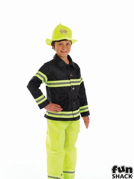 Fireman Boy Costume Thumbnail 1