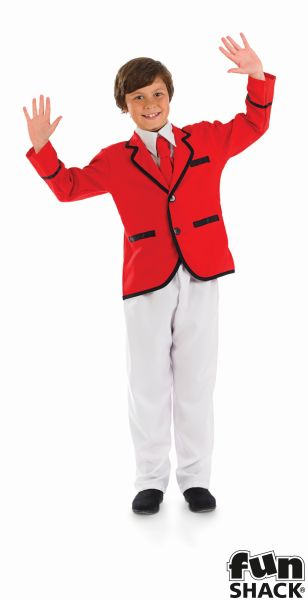 Boys Holiday Camp Helper Fancy Dress Costume Thumbnail 2