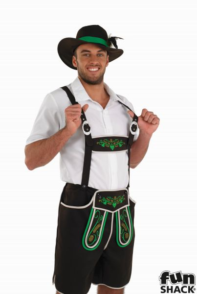 Bavarian Man Fancy Dress Costume Thumbnail 1