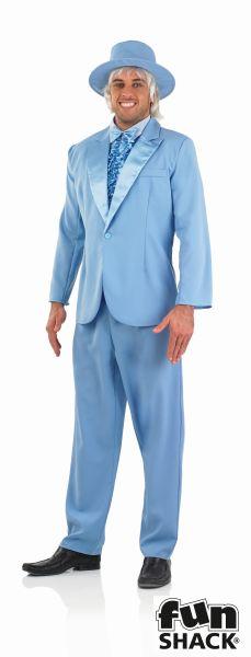 Blue Suit Fancy Dress Costume  Thumbnail 2