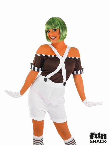 Sexy Factory Worker Fancy Dress Costume Thumbnail 1