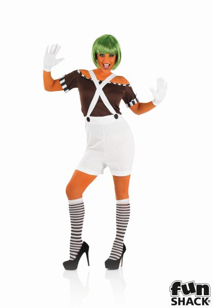 Sexy Factory Worker Fancy Dress Costume Thumbnail 2
