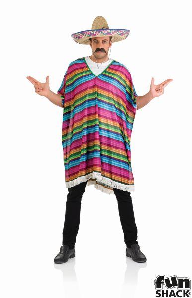 Stripy Poncho  Thumbnail 2