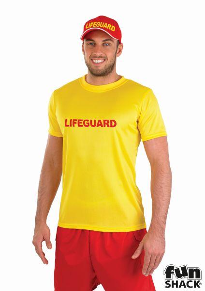 Male Lifeguard Fancy Dress Costume Thumbnail 1