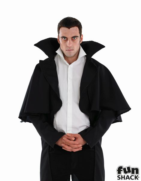 Black Vampire Coat Thumbnail 1