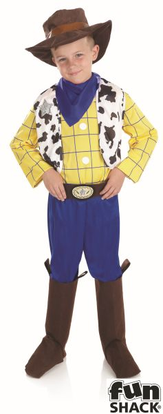 The Cowboy Kid Fancy Dress Costume Thumbnail 2