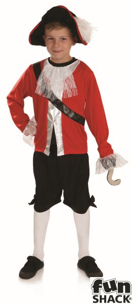 Pirate Captain Fancy Dress Costume Thumbnail 2