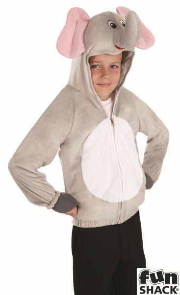 SALE! Kids Zoo Animal Elephant Girls / Boys Book Week Fancy Dress Childs Costume Thumbnail 1