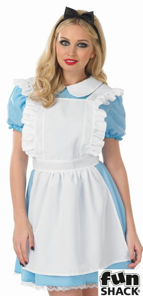 Women's Traditional Alice Fancy Dres Costume  Thumbnail 1