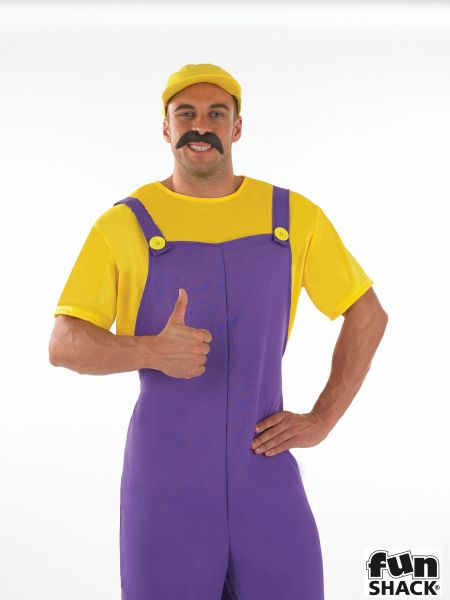 Yellow Plumbers Mate Fancy Dress Costume Thumbnail 1