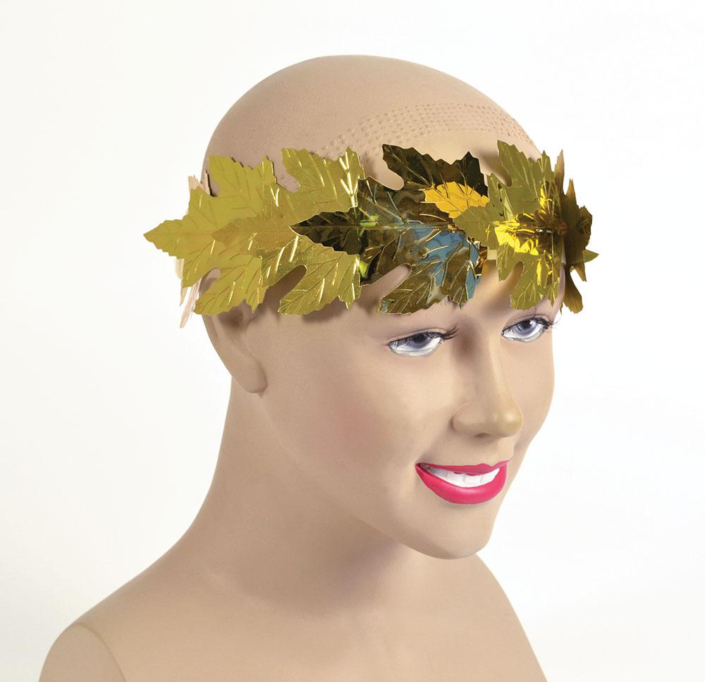 Roman Laurels Gold Leaf Headdress