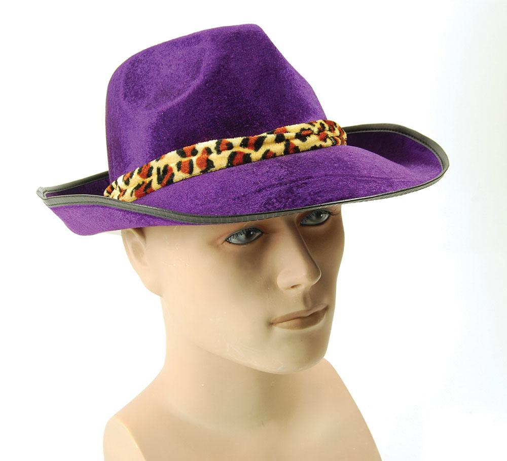 Velvet Purple Fedora