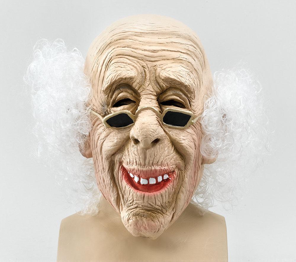 Old Man Mask & Hair