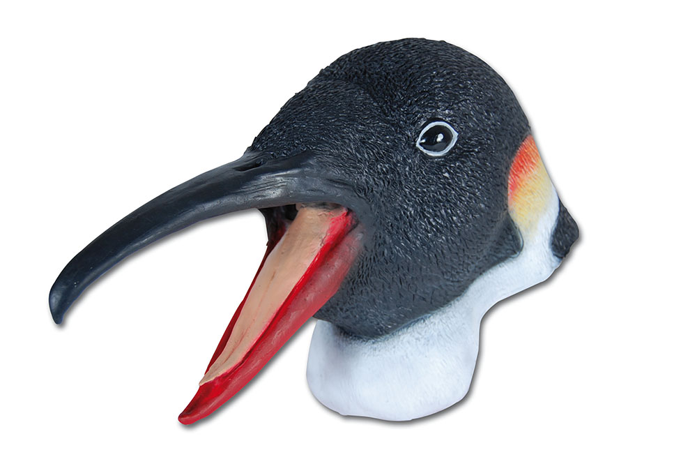Penguin Rubber Overhead Mask