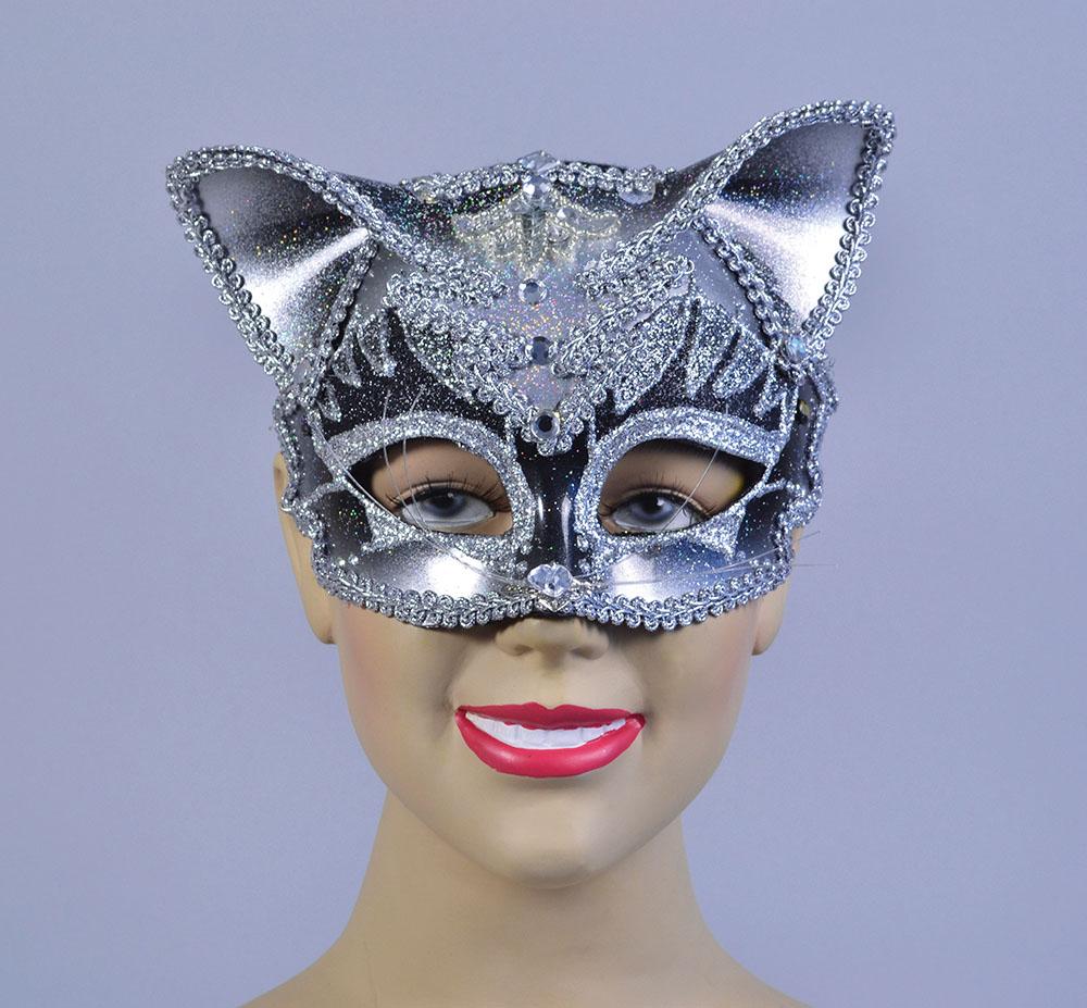 Jewelled Cat Mask