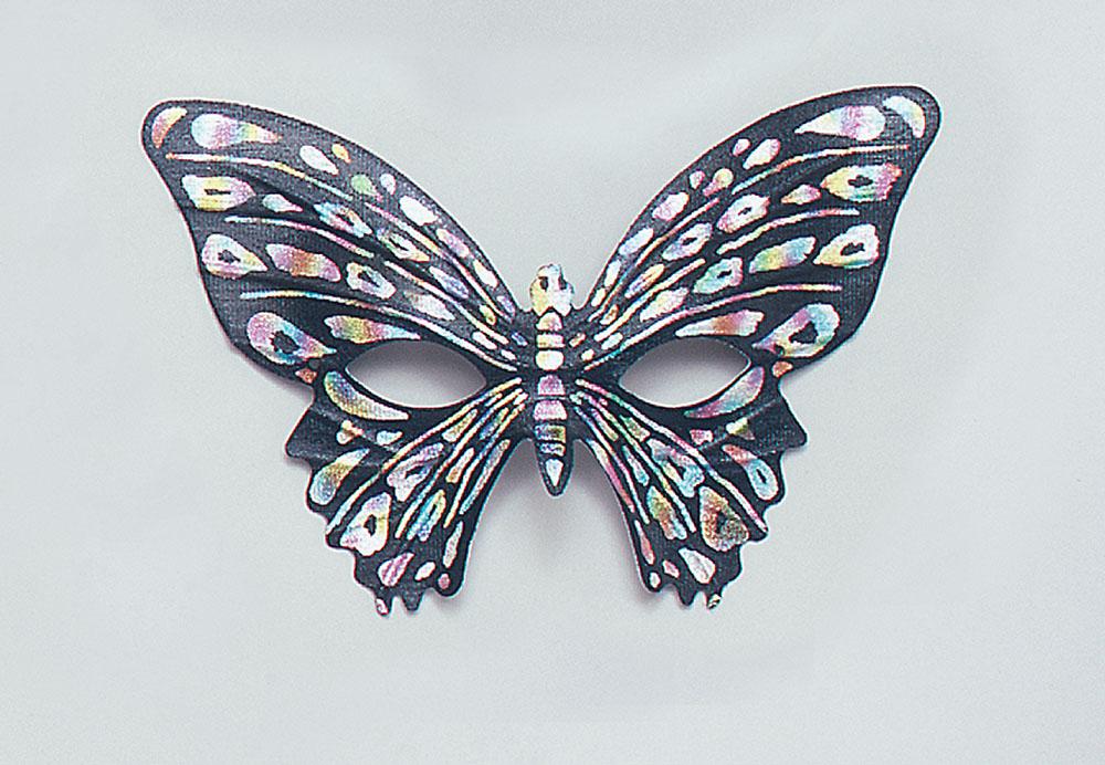 Butterfly Eye Mask Black