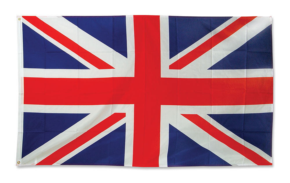 Union Jack Flag. 3 x 5 Cloth.