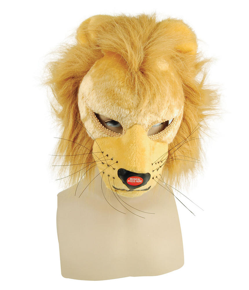 Lion Mask Full Face with Sound
