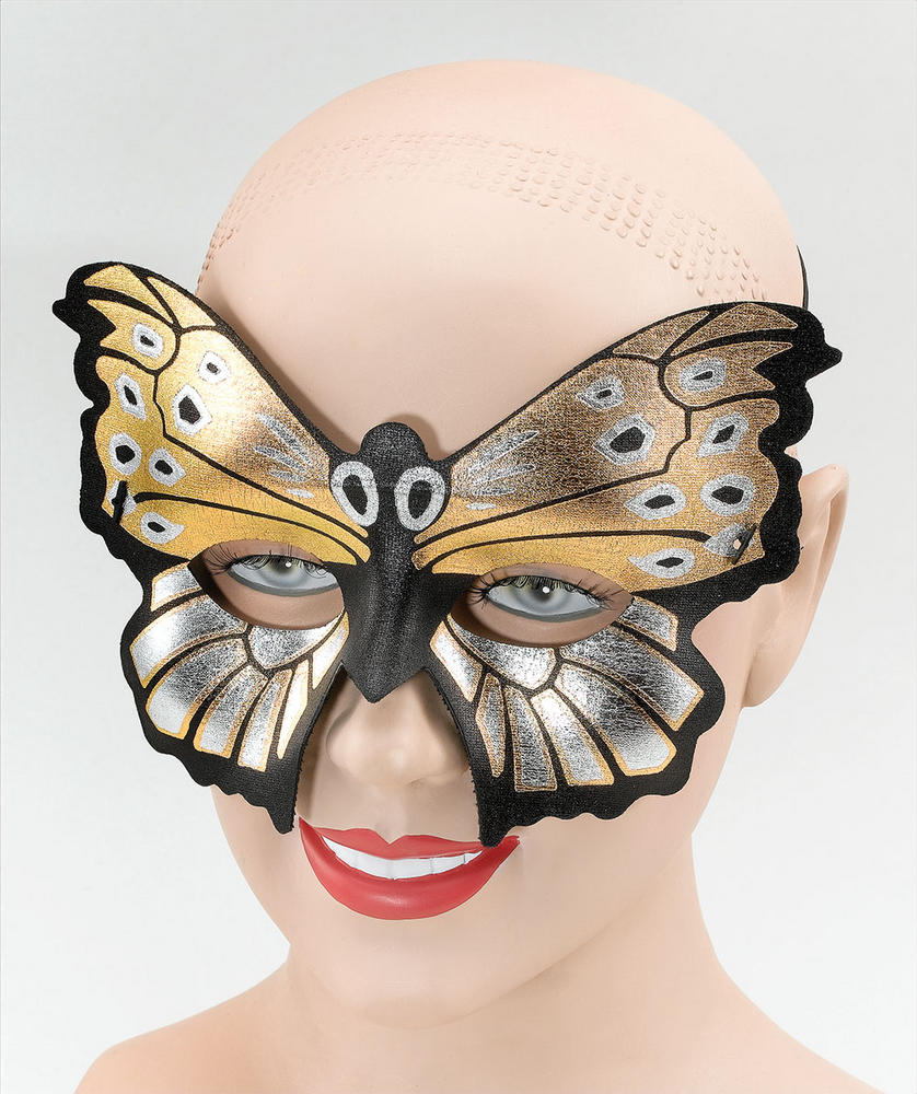Butterfly Eden Domino Eye Mask