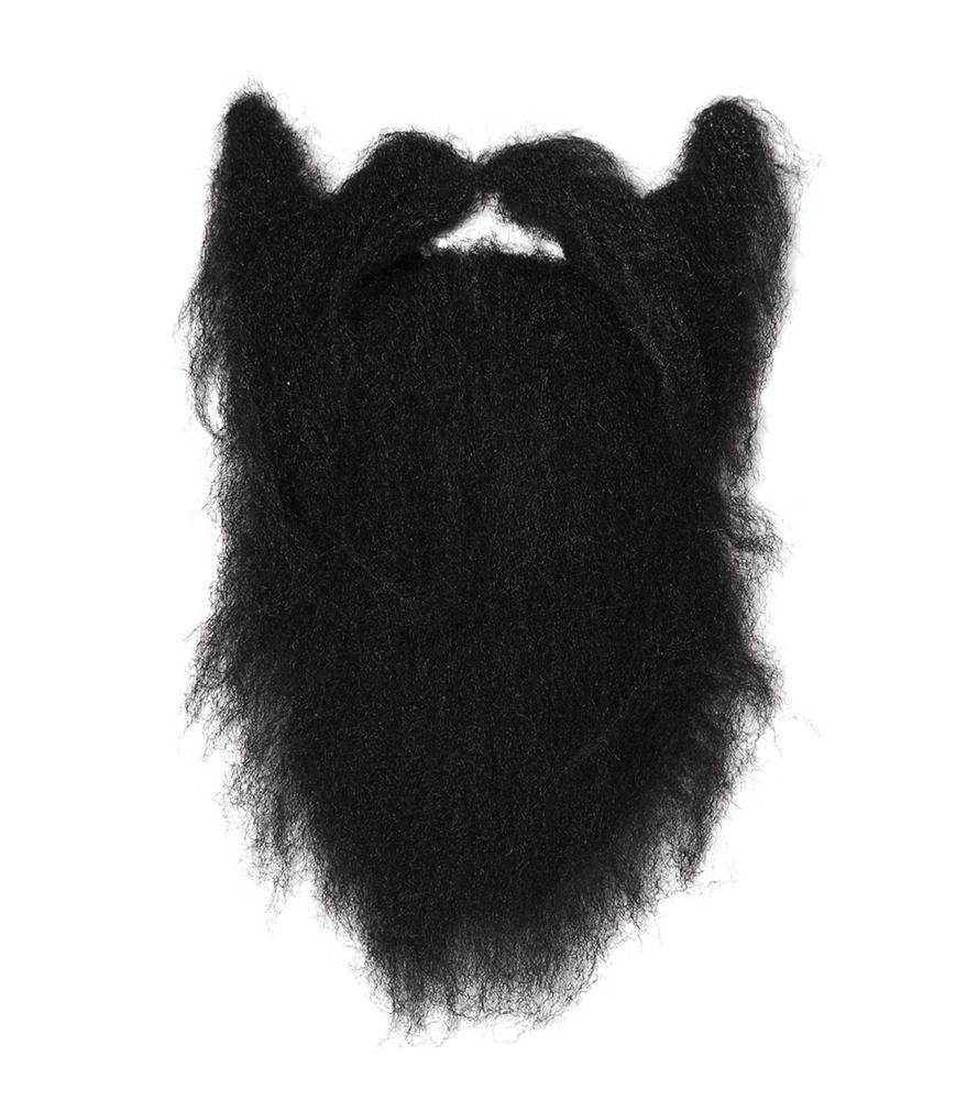 Character Beard. Black. Large